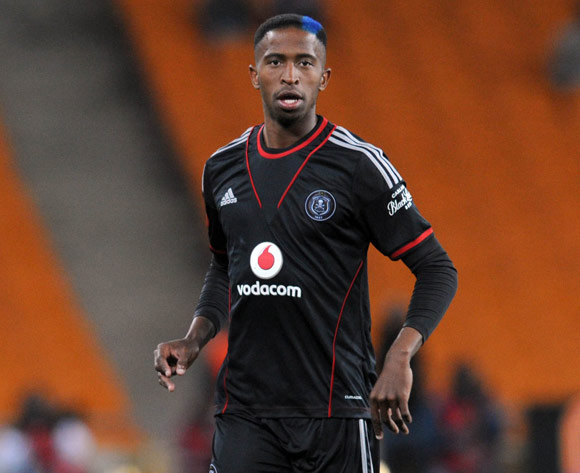 William Twala of Orlando Pirates during the Absa Premiership match between Orlando Pirates and AmaZulu on the 08 August 2013 at FNB Stadium