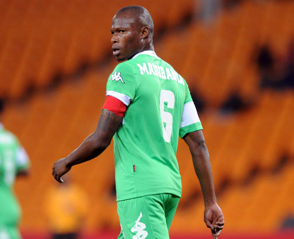 Letladi Madubanya of AmaZulu during the Absa Premiership match between Orlando Pirates and AmaZulu on the 08 August 2013 at FNB Stadium