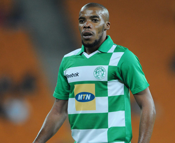 Wandisile Letlabika of Bloemfontein Celtic during the Absa Premiership 2013/14 match between Kaizer Chiefs and Bloemfontein Celtic at FNB Stadium in Johannesburg on the 19 February 2014