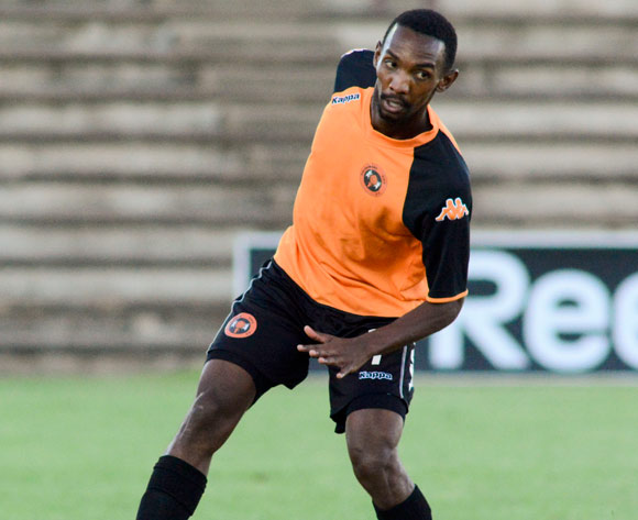 Thabo Rakhale of Polokwane City F.C during the Absa Premiership match between Bloemfontein Celtic and Polokwane City F C on 12 March 2014 at Kaizer Sebothelo Stadium