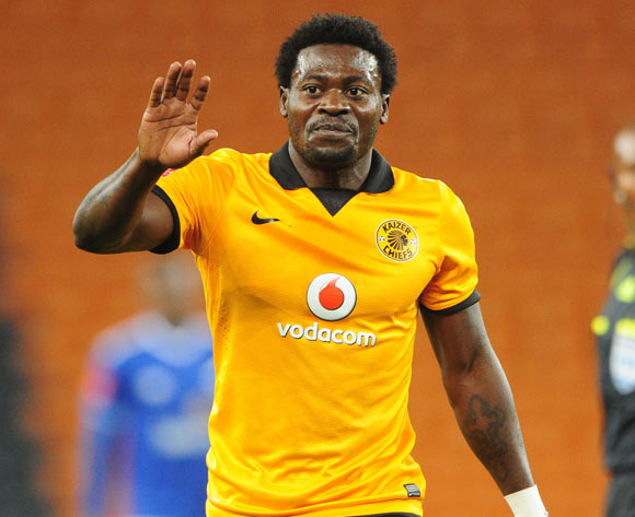 Kingston Nkhatha of Kaizer Chiefs during the Absa Premiership 2013/14 match between Kaizer Chiefs and Black Aces at FNB Stadium in Johannesburg on the 09 April 2014