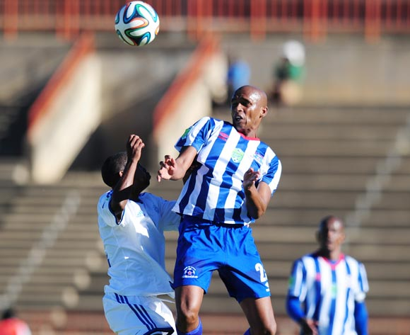 Ashley Hartog of Maritzburg United during 2014 Nedbank Cup Last 8 football match between African Warriors and Maritzburg United at the Charles Mopeli Stadium in Qwa-Qwa , Free State on the 12th of April 2014