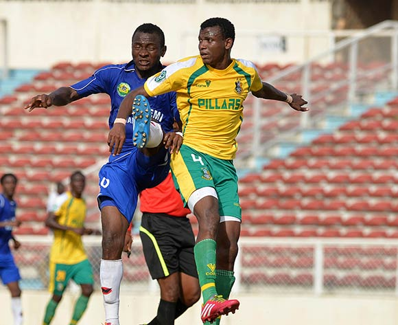 Shehu Abdullahi in recent Pillars action/Kabiru Abubakar@backpagepix