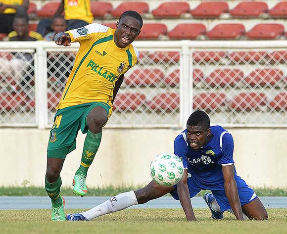 Jelili Akinbose of El Kanemi in a league match/Kabiru Abubakar@backpagepix