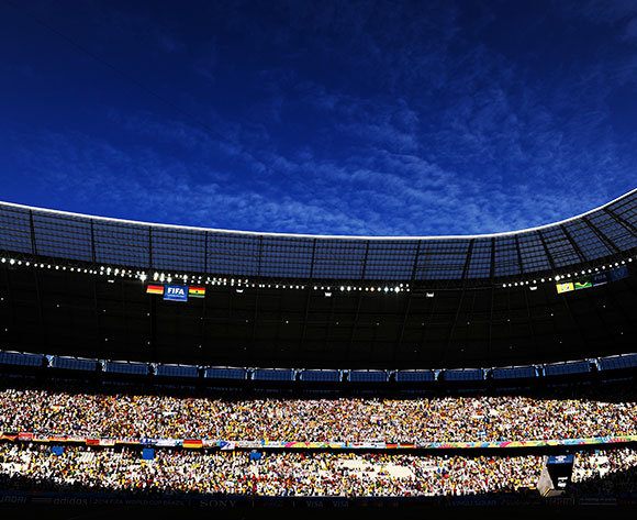 A general view of the Estadio Castelao during the Germany v Ghana game