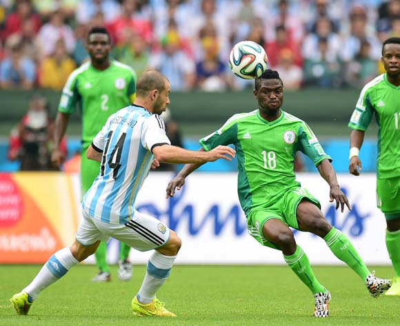 Nigeria put up a big fight against Argentina on Wednesday