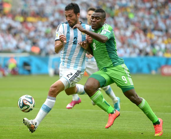 Emenike has yet to score in Brazil