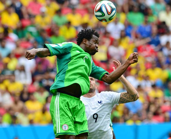 Efe Ambrose was an ever-present for Nigeria at the World Cup in Brazil