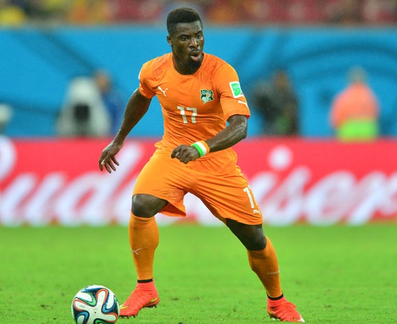 L'international ivoirien Serge Aurier