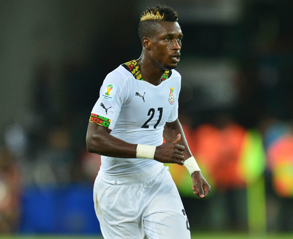 John Boye of Ghana  during the 2014 Brazil World Cup Final Group G football match between Ghana and USA at the Estadio das Dunas in Natal, Brazil on 16 June 2014