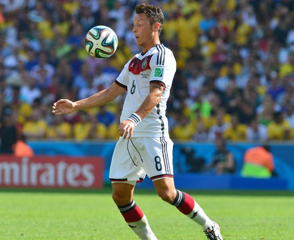 Mesut Oezil of Germany during the 2014 Brazil World Cup Final Quarterfinal football match between France and Germany at the Maracana Stadium in Rio De Janeiro on 4 July 2014