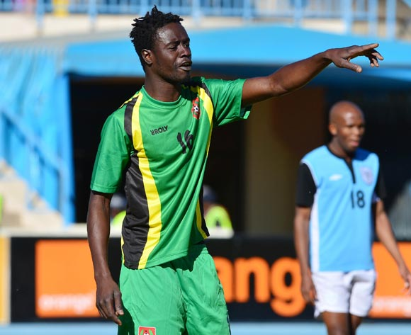 Eridson Umpeca of Guinea Bissau during the 2015 African Cup of Nations football qualifier between Botswana and Guinea Bissau at the National Stadium in Gaborone on 19 July 2014