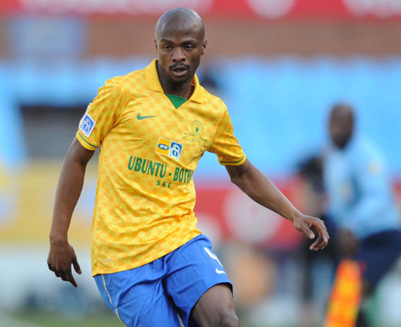 Tebogo Langerman of Mamelodi Sundowns during the MTN8 match between Mamelodi Sundowns and Platinum Stars  on the 02 August 2014 at Loftus Stadium
