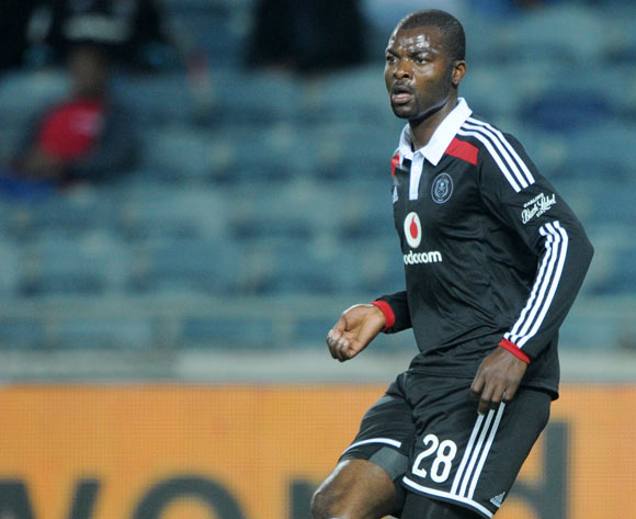 Rooi Mahamutsa of Orlando Pirates during the Absa Premiership 2014/15 match between Orlando Pirates and AmaZulu at Orlando Stadium,  Soweto on the 20 August  2014
