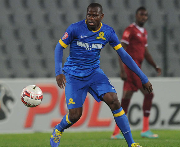 Hlompho Kekana of Mamelodi Sundowns  during Absa Premiership match between Moroka Swallows and Mamelodi Sundowns on the 20 August 2014 at Dobsonville Stadium