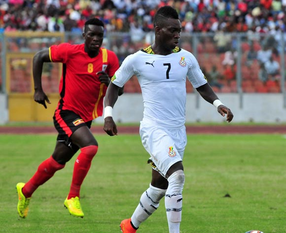 Christian Atsu of Ghana at the Afcon Qualifiers