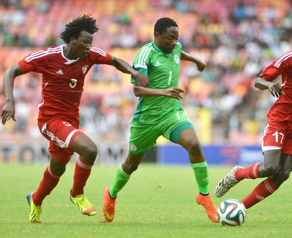 Ahmed Musa  against Sudan on Wednesday