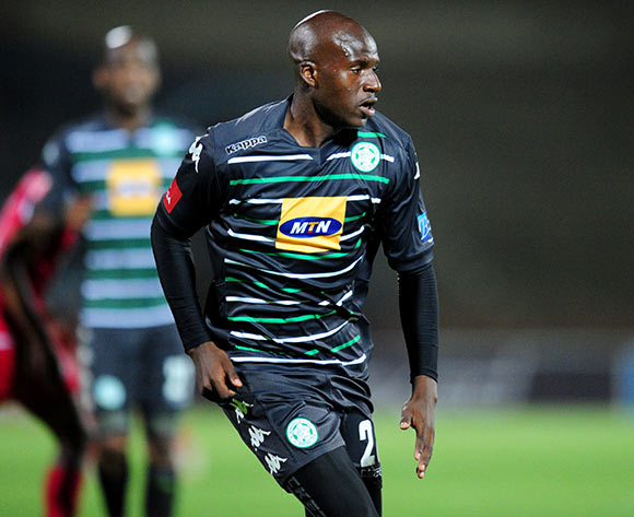 Musa Bilankulu of Bloemfontein Celtic during the Absa Premiership 2014/15 football match between Free State Stars and Bloemfontein Celtic at the Charles Mopeli Stadium in Qwa-Qwa , Free State Province on the 3rd of December 2014