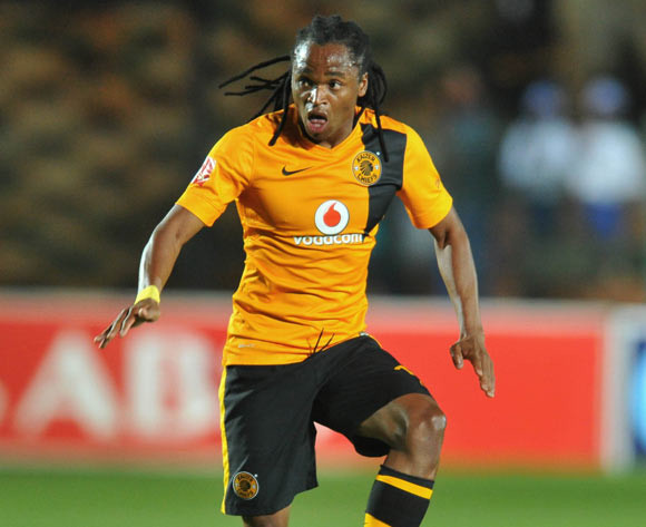 Siphiwe Tshabalala of Kaizer Chiefs during the Absa Premiership 2014/15 football match between Bidvest Wits and Kaizer Chiefs at the Bidvest Stadium in Johannesburg, South Africa on December 03, 2014