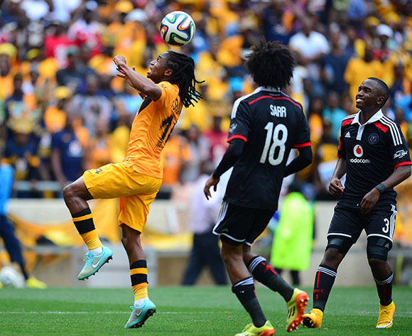 Siphiwe Tshabalala of Kaizer Chiefs during the Absa Premiership Football match between Orlando Pirates and Kaizer Chiefs at Soccer City in Johannesburg, South Africa on December 6, 2014 ©Barry Aldworth/BackpagePix