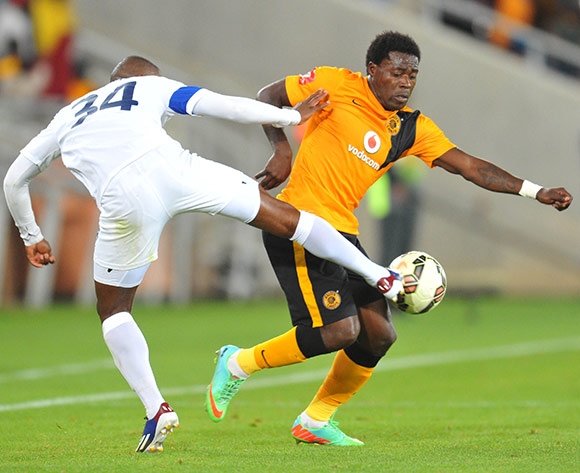 during the Absa Premiership 2014/15 football match between Kaizer Chiefs and Chippa United at the Peter Mokaba Stadium in Polokwane, South Africa on December 13, 2014 ©Samuel Shivambu/BackpagePix