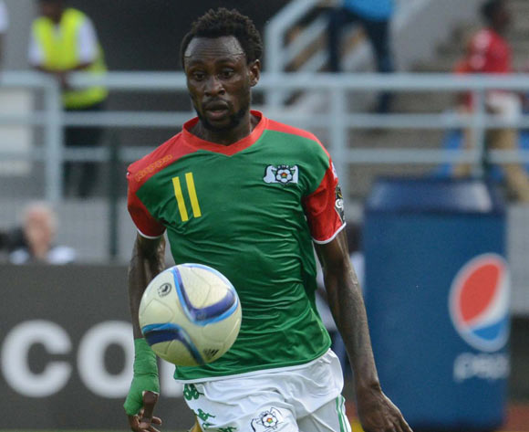 Jonathan Pitroipa of Burkina Faso  during of the 2015 Africa Cup of Nations match between Equatorial Guinea and Burkina Faso at Bata Stadium, Equatorial Guinea on 21 January 2015
