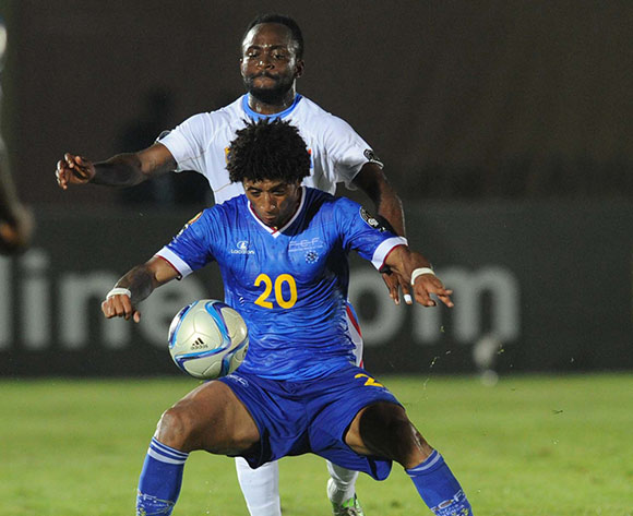 Ryan Mendes of Cape Verde   during of the 2015 Africa Cup of Nations match between Cape Verde and DR Congo at Ebibeyin Stadium, Equatorial Guinea on 22 January 2015 Pic Sydney Mahlangu/BackpagePix