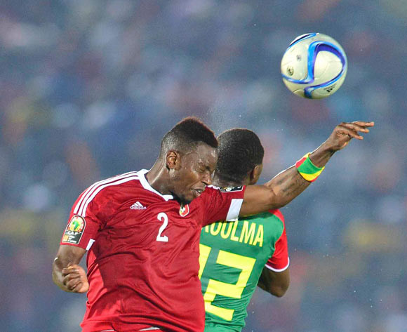 Francis Nganga of Congo and Adama Guira of Burkina Faso  on Sunday