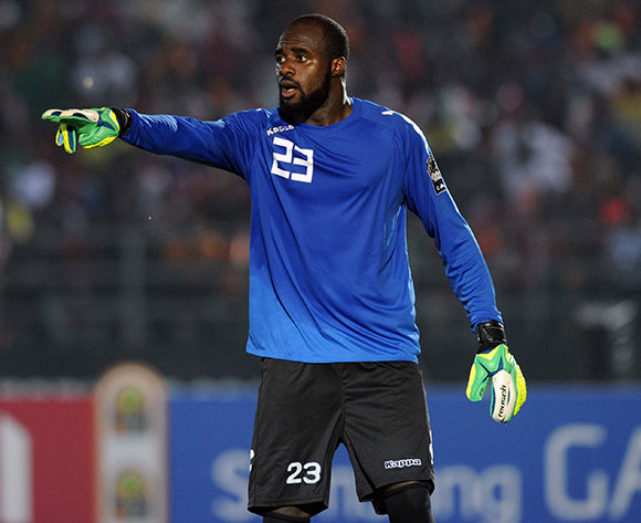 Moussa Germain Sanou of Burkina Faso during of the 2015 Africa Cup of Nations match between Congo and Burkina Faso at Ebibeyin Stadium, Equatorial Guinea on 25 January 2015 Pic Sydney Mahlangu/BackpagePix