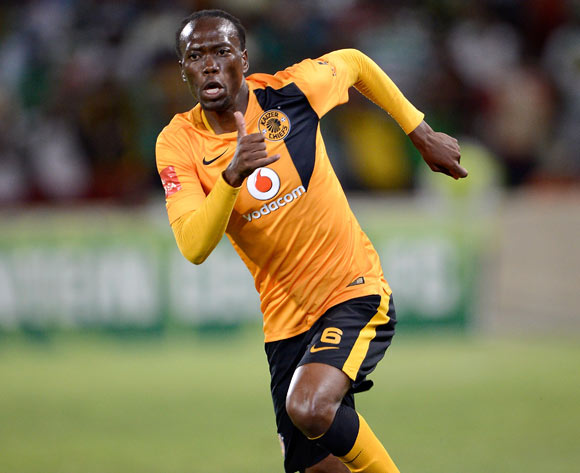 Reneilwe Letsholonyane of Kaizer Chiefs during the Absa Premiership match between Bloemfontein Celtic FC and Kaizer Chiefs FC. at the Free State Stadium  on 11 February 2015.