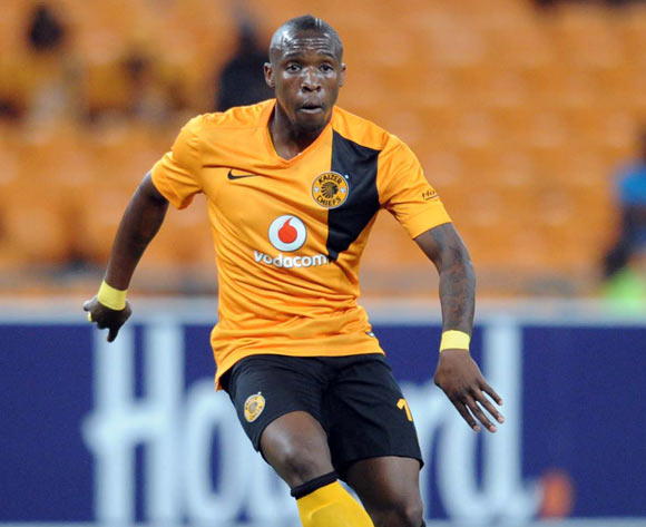 George Maluleka of Kaizer Chiefs  during the CAF Champions League match between Kaizer Chiefs and Township Rollers at FNB Stadium, Johannesburg on 14 February 2015