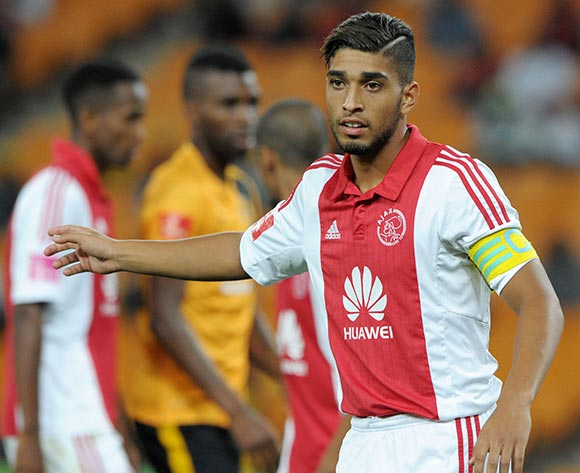 Travis Graham of Ajax Cape Town during the Absa Premiership 2014/15 match between Kaizer Chiefs and Ajax Cape Town at the FNB Stadium, Johannesburg on the 04 March 2015  ©Muzi Ntombela/BackpagePix