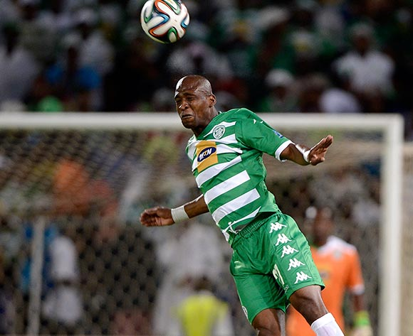 Alfred Ndengane of Bloemfontein Celtic during the Absa Premiership match between Bloemfontein Celtic FC and Supersport United FC at the Free State Stadium  on 11 March 2015