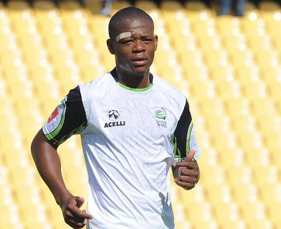 Ndumiso Mabena of Platinum Stars  during the Absa Premiership match between Platinum Stars and Maritzburg United on 15 March 2015 at Royal Bafokeng Stadium Pic Sydney Mahlangu/BackpagePix