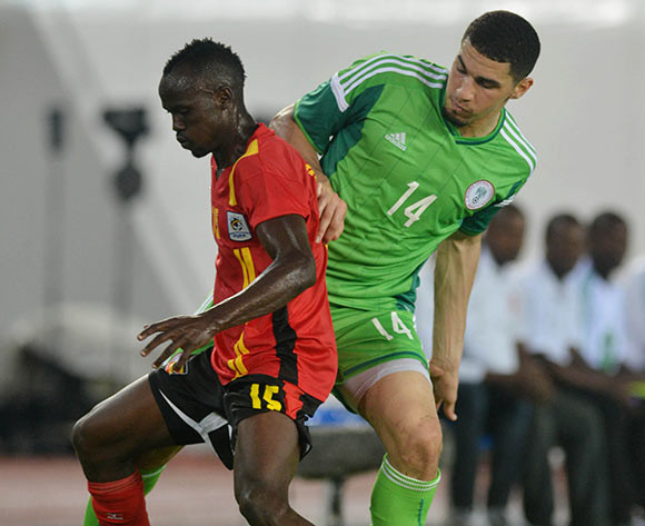 Leon Balogun (right) on Nigeria duty