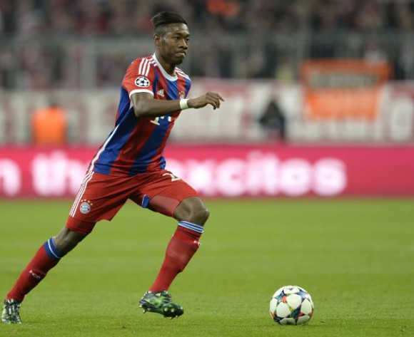 Bayern's Alaba out for seven weeks