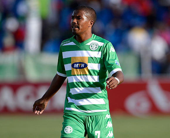 Lyle Lakay of Bloemfontein Celtic FC. during the Absa Premiership match between Bloemfontein Celtic FC and University of Pretoria FC. at Kaizer Sebothelo Stadium on 5 April 2015. ©Gerhard Steenkamp/BackpagePix