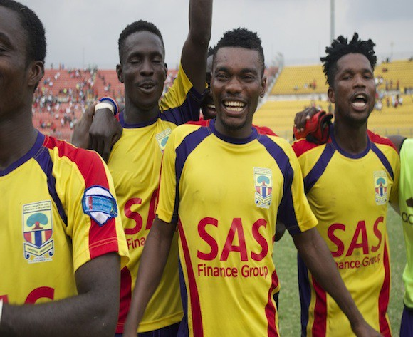 Olympics and Hearts share spoils in Accra derby