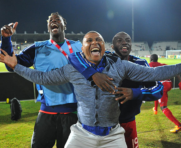 during the 2015 Cosafa Cup final match between Namibia and Mozambique at the Moruleng Stadium in Rustenburg, South Africa on May 30, 2015 ©Samuel Shivambu/BackpagePix