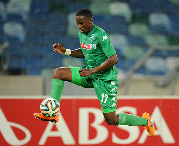Bongani Ntuli of Amazulu during the Absa Premiership 2014/15 match between Amazulu and Supersport United at the Moses Mabhida Stadium, Durban on the 02 May 2015  ©Muzi Ntombela/BackpagePix