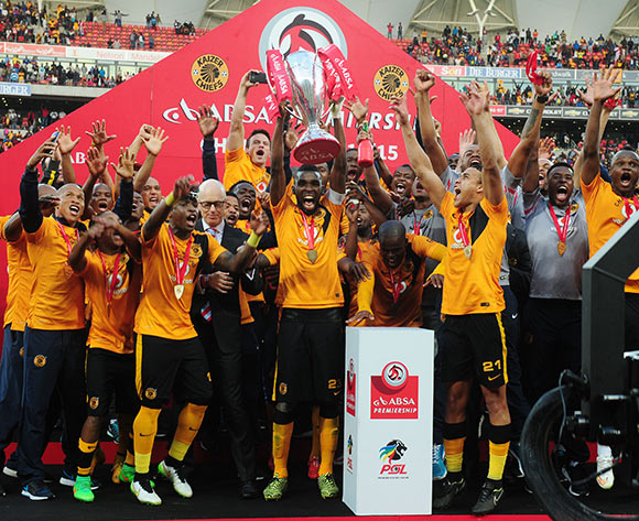 Kaizer Chiefs winners of the Absa Premiership 2014/15 match between Chippa United and Kaizer Chiefs at the Nelson Mandela Bay Stadium, Port Elizabeth on the 09 May 2015  ©Muzi Ntombela/BackpagePix