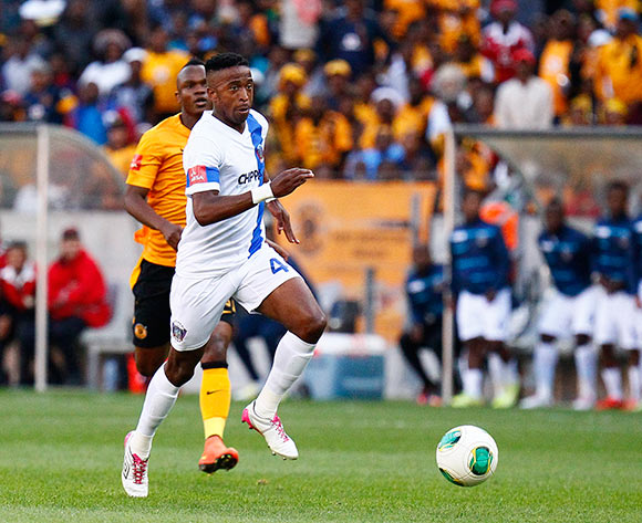 William Twala of Chippa United during the Absa Premiership football Match between Chippa United and Kaizer Chiefs  at the Nelson Mandela Bay Stadium on 9 May 2015 © Michael Sheehan/BackpagePix