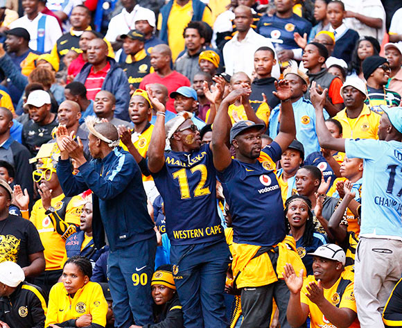 Kaizer Chiefs Fans during the Absa Premiership football Match between Chippa United and Kaizer Chiefs  at the Nelson Mandela Bay Stadium on 9 May 2015 © Michael Sheehan/BackpagePix