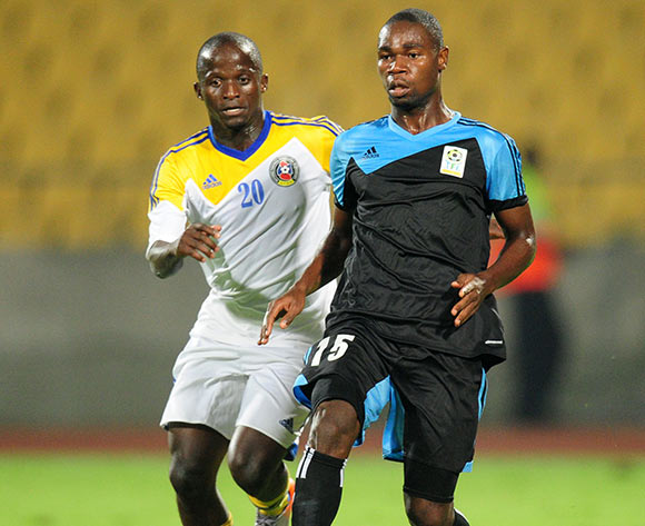 Shomari Kapombe of Tanzania (right)