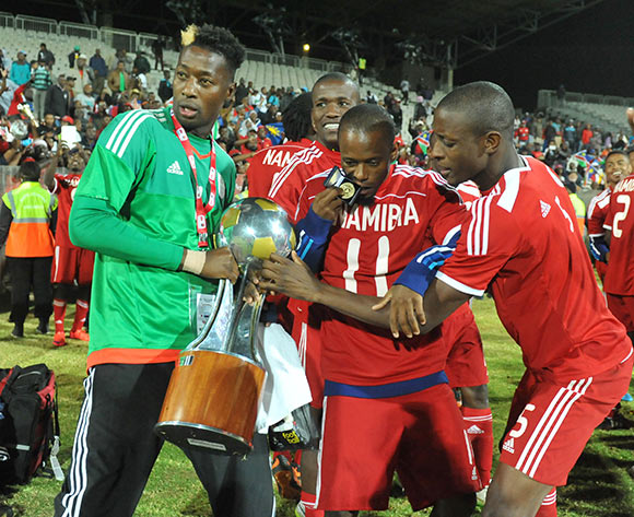 during 2015 Cosafa Cup Final match between Namibia and Mozambique at Moruleng Stadium, Rustenburg on the 30 May 2015  ©Muzi Ntombela/BackpagePix