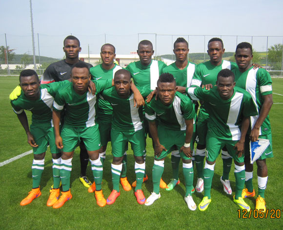 Flying Eagles bullish against rampant Germany