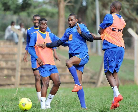 Botswana players during training on 11 June 2015 at Lugogo Stadium, Kampala in preparation for the 2017 Afcon Qualifier against Uganda Cranes on 13 June 2015 at Mandela Stadium, Namboole, Kampala. ©Ismail Kezaala/BackpagePix