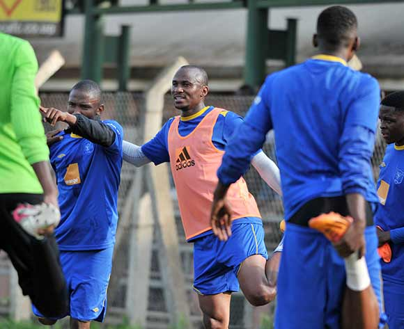 Botswana players during training