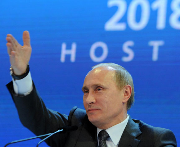 Putin: Russia fought honestly for 2018 WC
