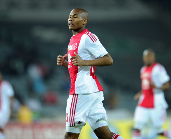 Prince Nxumalo of Ajax Cape Town during the MTN8 Quarter Final match between Orlando Pirates and Ajax Cape Town on 04 August 2015 at Orlando Stadium